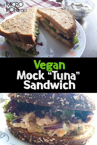 "Vegan Mock ""Tuna"" Sandwich"