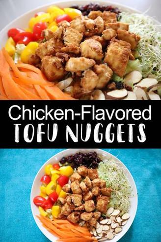 """Vegan """"Chicken"""" Nuggets"""