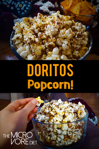 Healthy Vegan Doritos Popcorn!