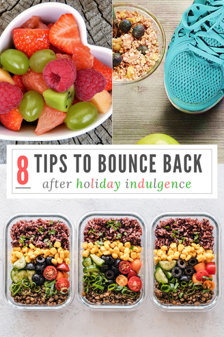 8 Tips To Bounce Back After Holiday Indulgence