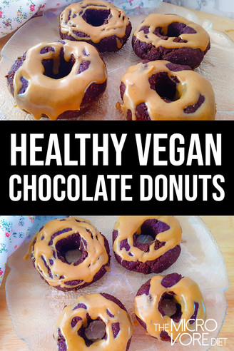 Raw Vegan Chocolate Peanut Butter Donuts