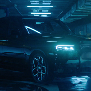"Advertising: Rolls Royce - ""Black Badge Cullinan"""