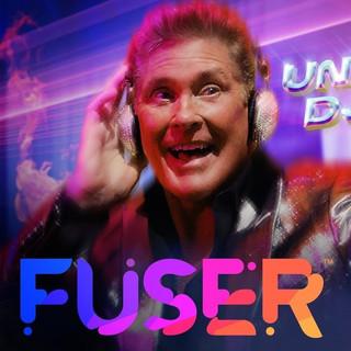 Advertising: FUSER Unexpected DJs ft. David Hasselhoff and Diplo