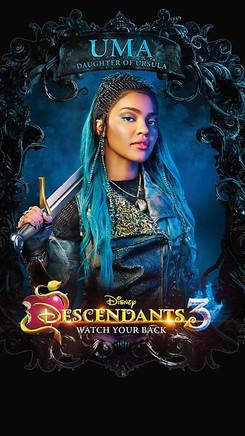 """Promo TV Show: Descendants 3 - """"Uma"""""""