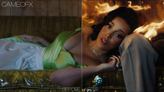 """Doja Cat - """"Streets"""" I BEFORE AND AFTER VFX"""