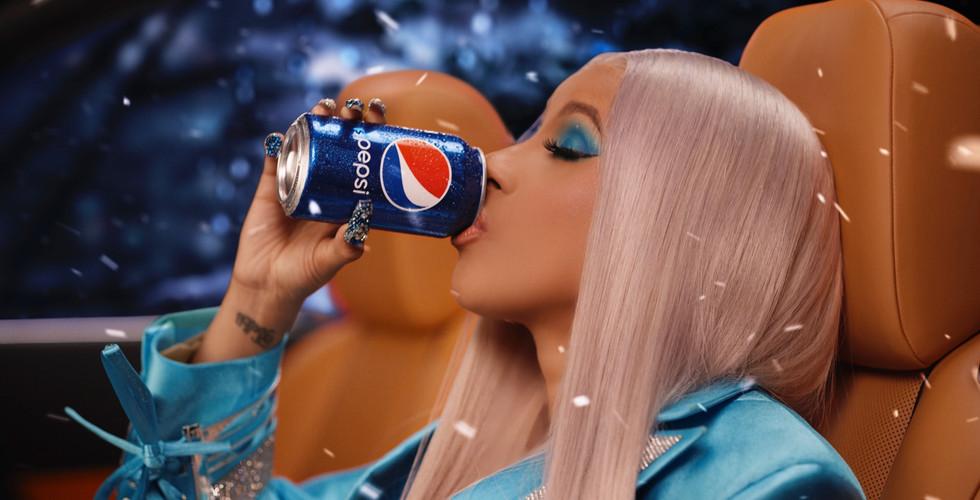 Pepsi Cardi Carol