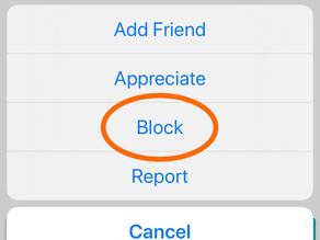 Feel Free to Block