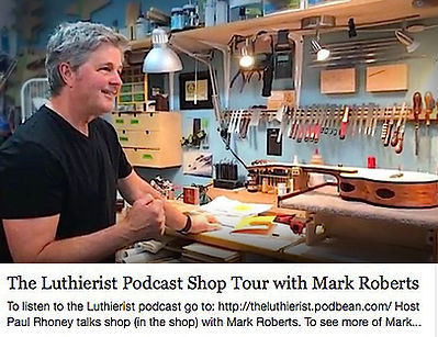 Mark Roberts Ukuleles, Luterist Podcast