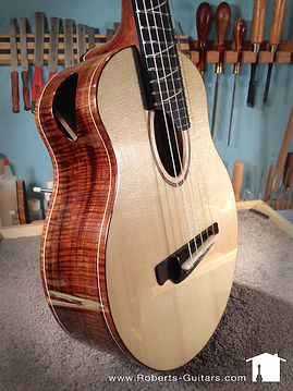 Cello tuned, five nylon string, T14 tenor ukulele