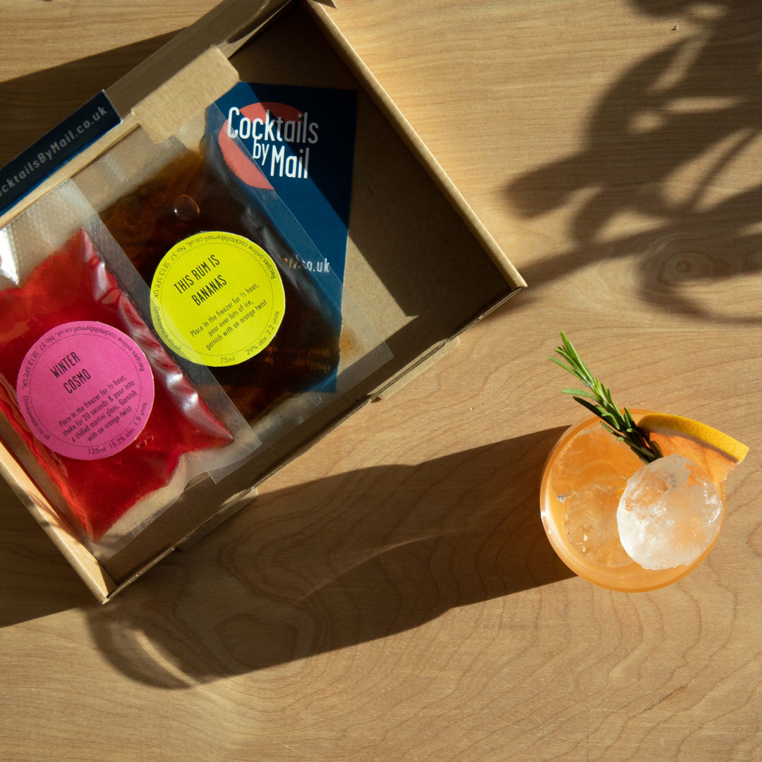Cocktails by Mail cocktail box