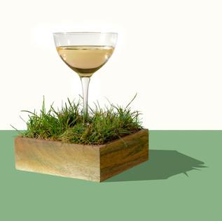 Cut Grass Martini