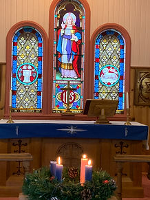 Lighting of the Third Advent Candle.JPG