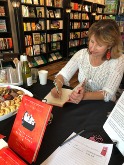 Mary signing her book!
