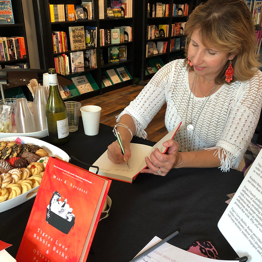 Author Signing at Barns & Nobles in Canton at the Shoppes