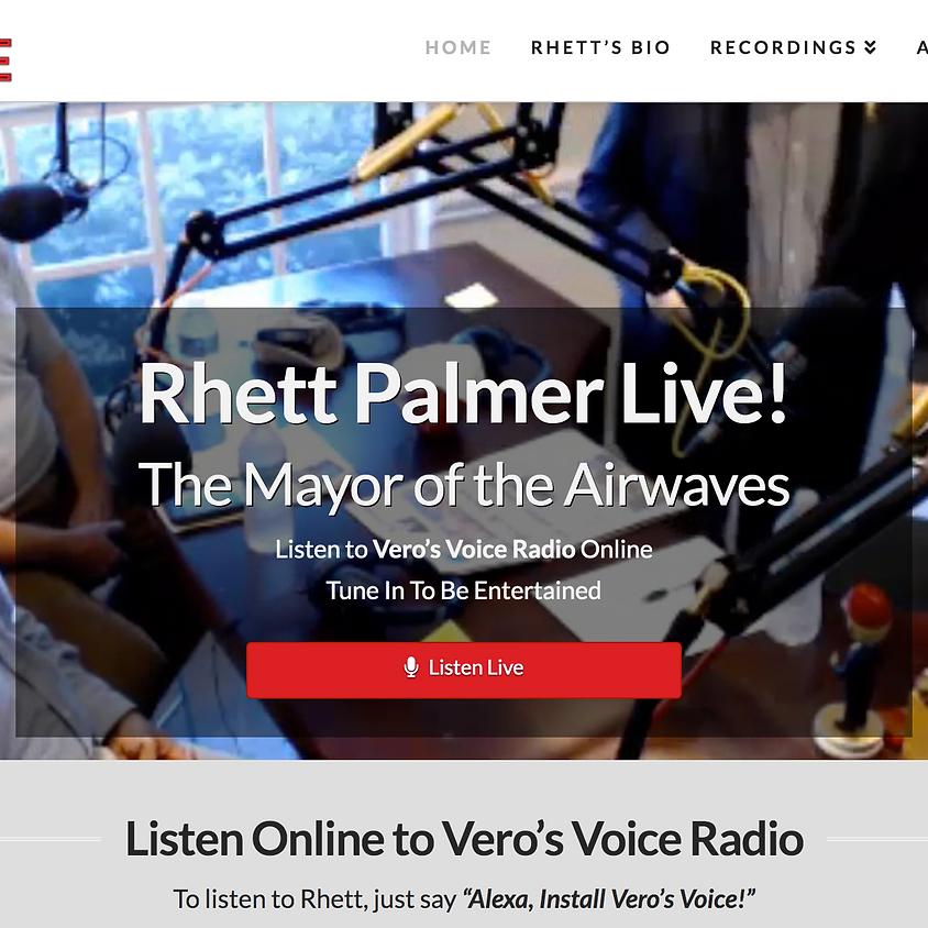 Live Radio Interview with Rhett Palmer on WAXE 1370