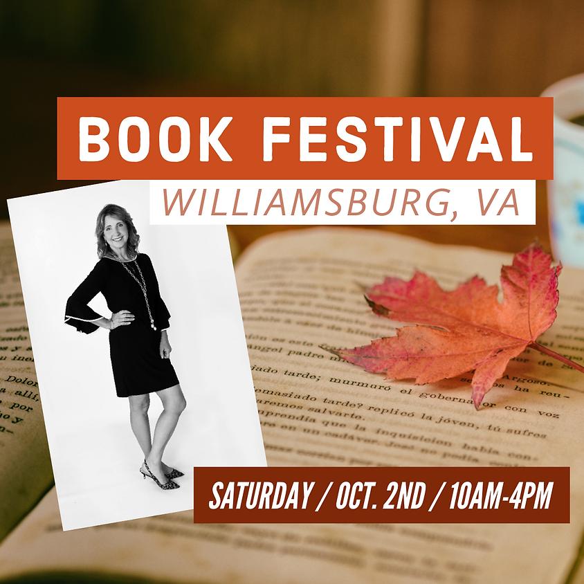 Williamsburg, Virginia 2021 Book Festival
