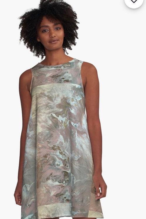 Dress- Dusty Rose Pearl
