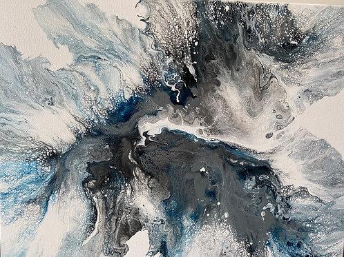 Perfect Storm 16x20 canvas