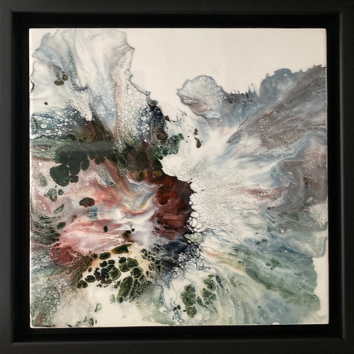 Flower Flow 12 x 12 with frame