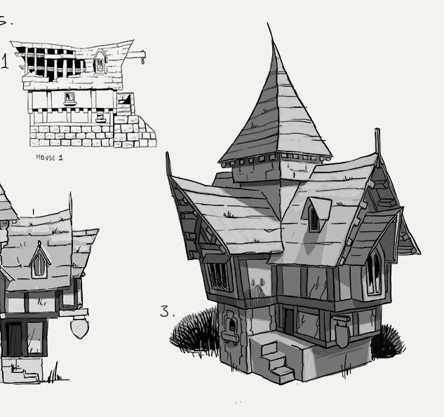 Medieval Village Concepts