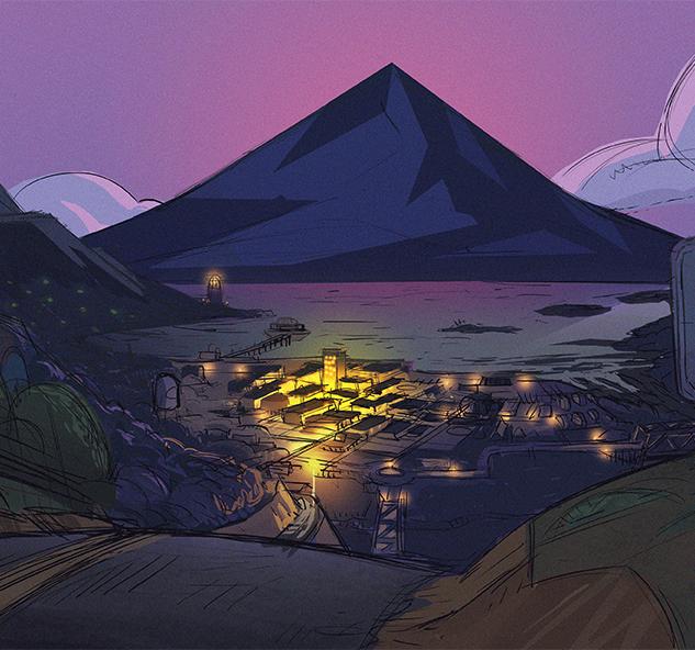 Cauldron Bay- Night