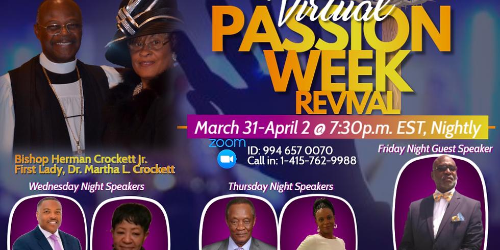 Virtual Passion Week Revival