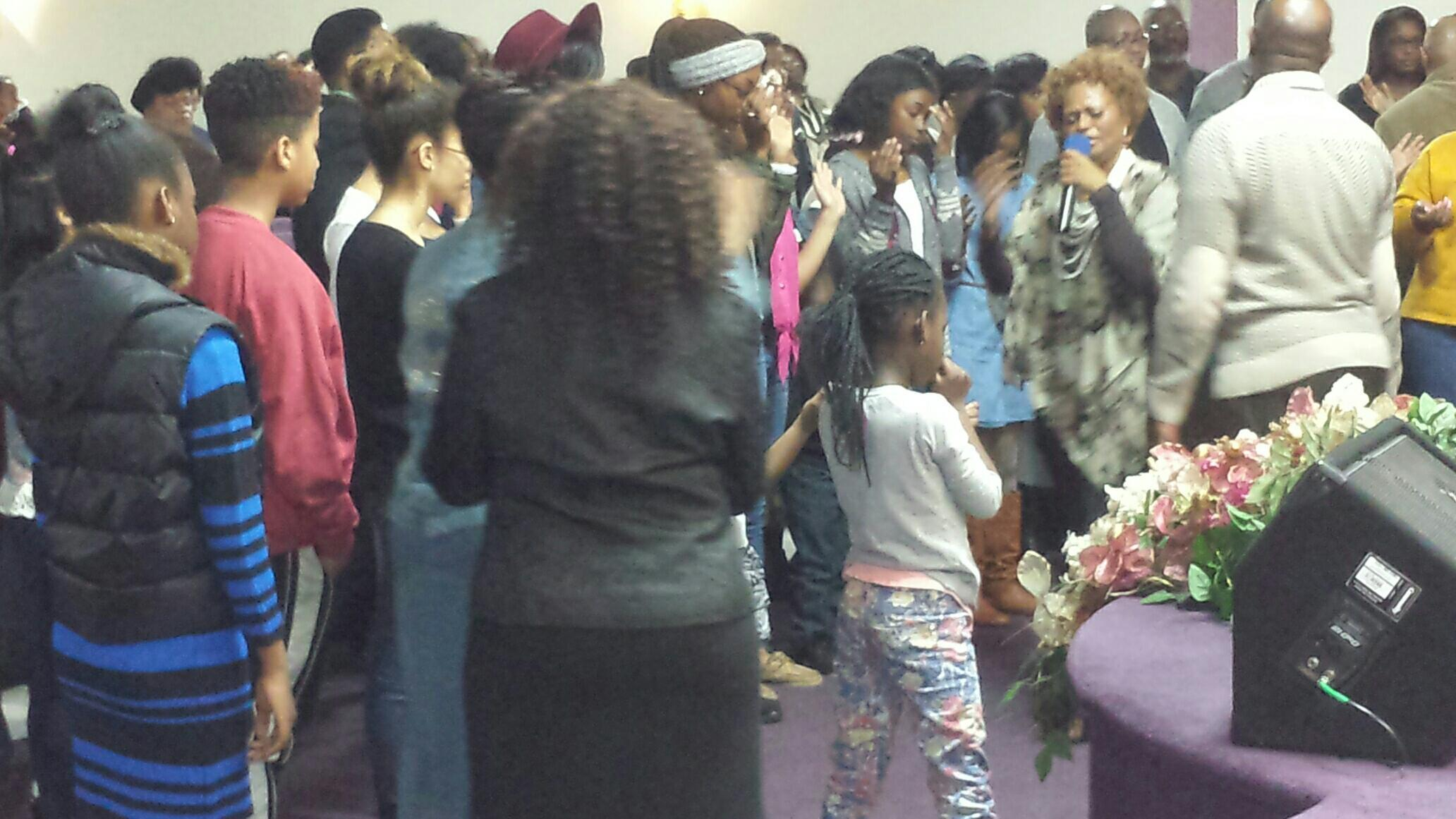 Youth in Action Altar Call