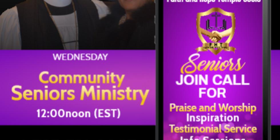 Community Seniors Ministry Every Wednesday