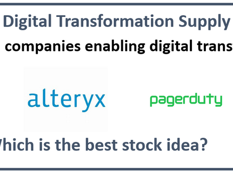 Battle of the Digital Transformation Supply Chain Stocks