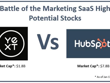 Stock Ideas: Yext vs. HubSpot