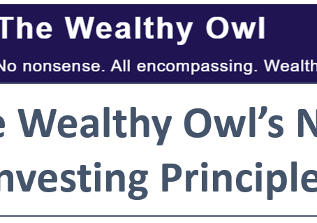 The Wealthy Owl's Nine Investing Principles