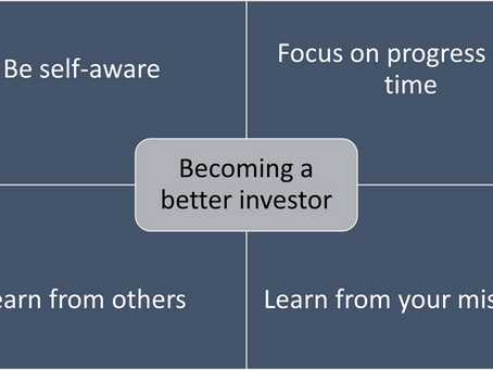 The journey to becoming a better investor