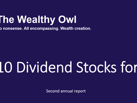 Top 10 Dividend Stocks for 2021 report published
