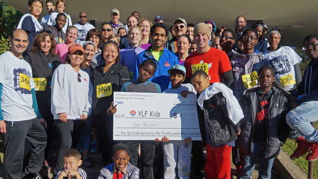 Award-Winning -- DRT Strategies -- Raises Thousands for DC Kids through Annual 5K Race