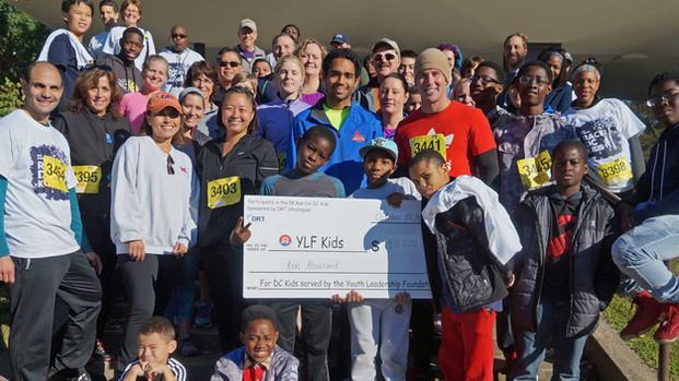 Award-Winning -- DRT Strategies -- Raises Thousands for DC Kids through Annual 5K Race