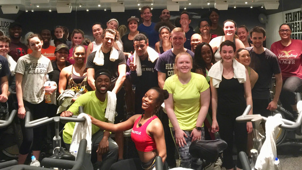 YLF WOULD LIKE TO THANK THE PARTICIPANTS OF CHARITY RIDE @ SOULCYCLE