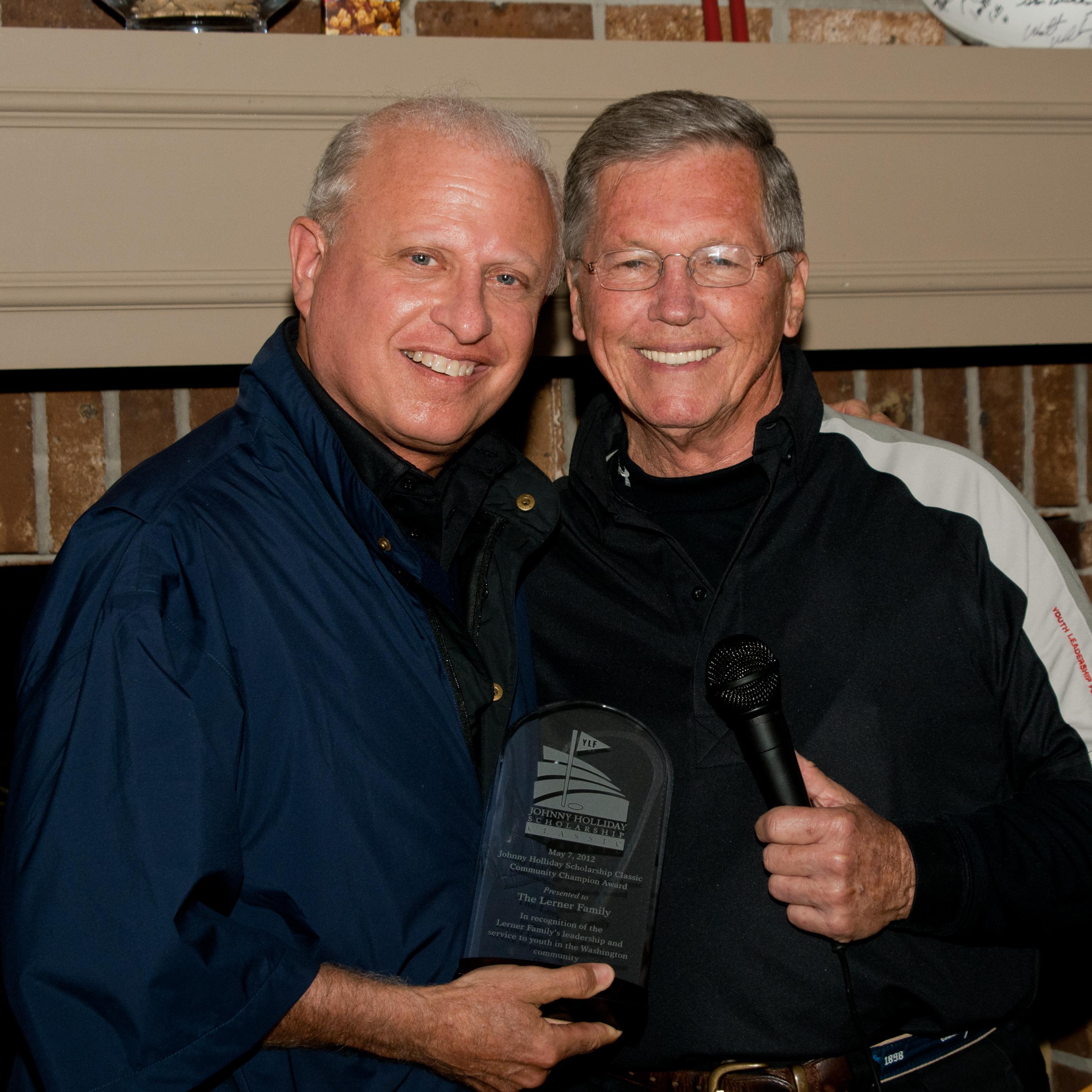 2012 Community Championship honoree