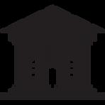 bank-building-silhouette-stencil-freesvg