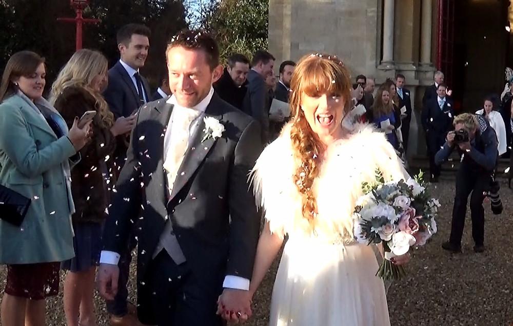 film your own wedding