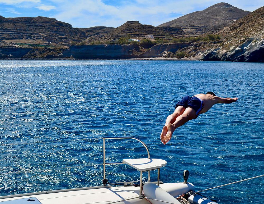 Greece honeymoon in Santorini