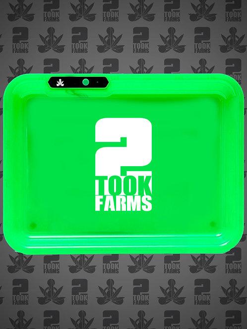 2Took Farms Alt Logo Rolling Tray