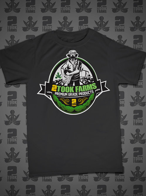 2Took Farms Logo T-Shirt