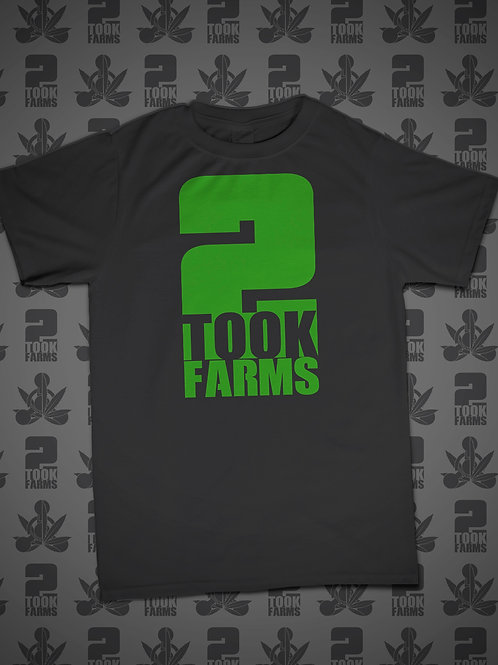 2Took Farms Tribute Logo T-Shirt
