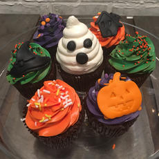 Halloween Cupcakes #1