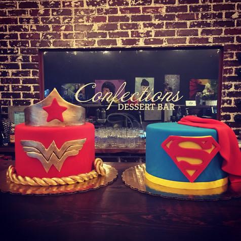 Superhero Kids Cake Class