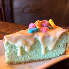 New York Leprechaun Cheesecake