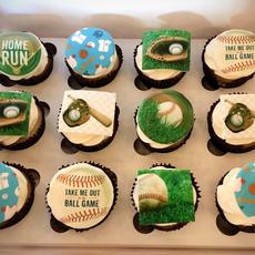 Themed Edible Image Cupcakes