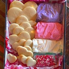 Valentines Sugar Cookie Decorating Kit
