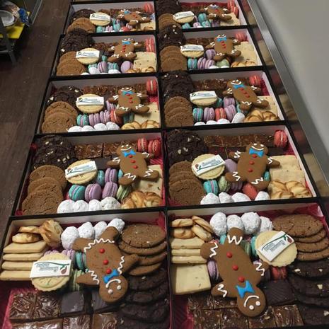 Bulk Corporate Christmas Cookie Box 10% Discount