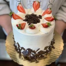 Be Mine Vanilla Cake